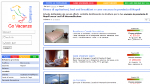 Go Vacanze Network: Case Vacanza, Agriturismi e Bed and Breakfast